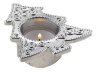 Mini Diamond Frame Glass Tealight