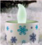 Multi Led Snowflakes Tealights CE35SF (1DZ) Image