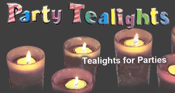party Tealight candles